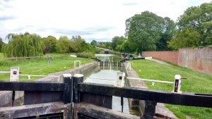One of 29 locks on the Kennet and Avon Canal.