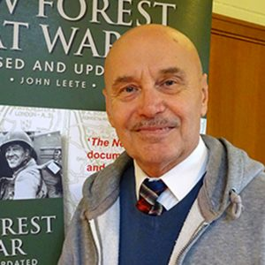 John Leete author of The New Forest at War