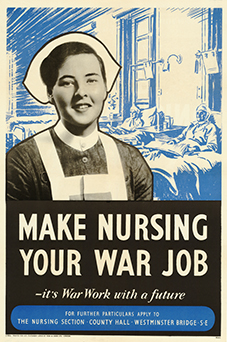 make nursing your war job