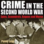 Audio book cover for Crime in the Second World War by Penny Legg